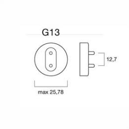 Светодиодные лампы с цоколем  G13