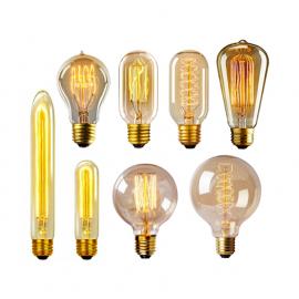 Лампы накаливания Эдисона. Ретро лампы светодиодные
