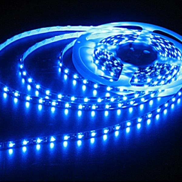 Синяя светодиодная лента SMD5050