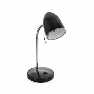 Настольный светильник 230V 40W E27 Camelion KD-308 C02 металл черный