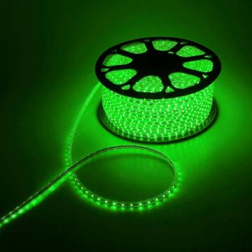 Светодиодная лента зеленого цвета 220В