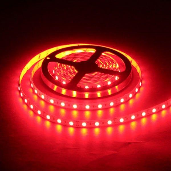 Светодиодная лента SMD-5050/60 IP20 красный  14.4w/m 900Lm (5м) Включай