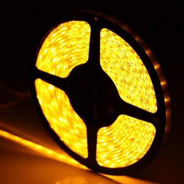 Светодиодная лента SMD-5050/60 IP20 желтый 14.4w/m 900Lm (5м) Включай