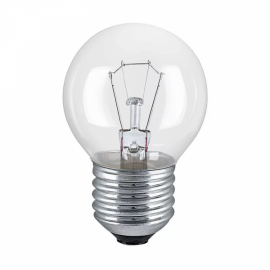 Лампа Накаливания Шар P45 40Вт 220В Е14/E27 ПР 380Лм ASD
