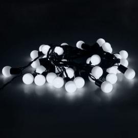 Гирлянда Уличная Метраж С Насадкой Шарики 6м (Белый) Luazon Lighting