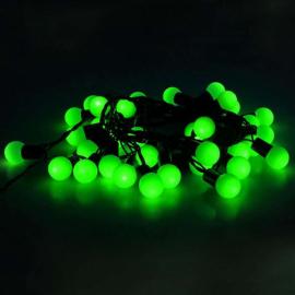 Гирлянда Уличная Метраж С Насадкой Шарики 6м (Зеленый) Luazon Lighting