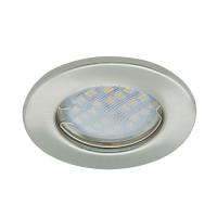 Встраиваемый светильник Ecola DL90 GU5.3 Сатин-Хром