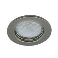 Встраиваемый светильник Ecola DL90 GU5.3 Черный Хром