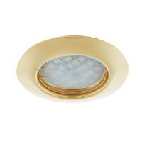Встраиваемый светильник Ecola DL92 GU5.3 Золото