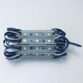 Светодиодный RGB модуль 12 Вольт 1,25 Ватт 3 Led