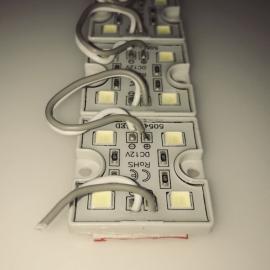 Светодиодный модуль 5050-4LED-RED-3737