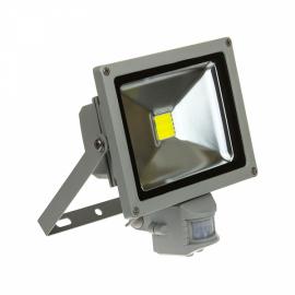 Светодиодный Прожектор Уличный СДО-2Д-20 20Вт С Датчиком Движения ASD