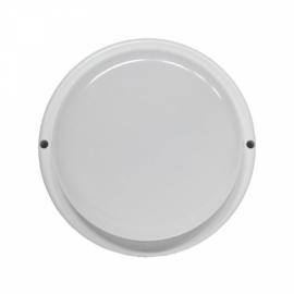 Светильник светодиодный герметичный LE LED OBL 01 WH 12W (круг) (40) (без инд.упак.)
