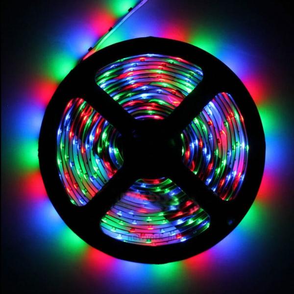 Светодиодная лента SMD-5050/30 IP65 RGB 7,2w/m 450Lm (5м)  Включай