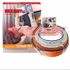 Rexant Теплый пол (экранир. кабель) 15Вт/м, 30м (450Вт/2,7-3,8м2) RND-30-450 51-0514-3
