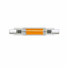 Лампа светодиодная прожекторная J78 R7s 7W 3000K прозрачная 13x78 Uniel