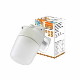 Светильник НПБ400 баня/сауна наклонный  бел. IP54 60 Вт основание поликарбонат TDM Народная