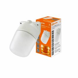 Светильник НПБ400 баня/сауна наклонный  бел. IP54 60 Вт основание керамика TDM