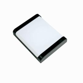Светильник светодиодный влагозащитный ULW-Q280 22W/4000K/S02 IP65 Volpe BLACK Прямоугольник