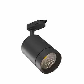 Трековый светодиодный светильник 702Е-30W-6000K Black (черный)