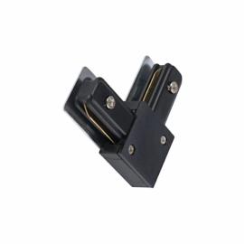 Коннектор черный для трековых систем шинопровода угловой L90°