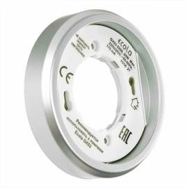 Светильник накладной легкий серебро GX53 Ecola Серебро FS5356ECD (без лампы)