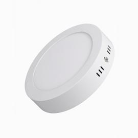 Светильник светодиодный накладной даунлайт 6W 4200K 4K круг 120x32 DRSV18ELC Ecola