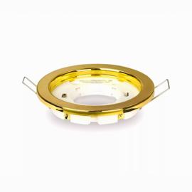 Светильник встраиваемый Ecola GX53 H4 Золото 38x106 FG53H4ECB