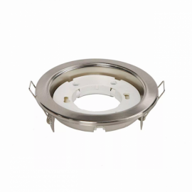 Светильник плоский Сатин-хром GX53-H6 16x101 Light Ecola TS5325ECB
