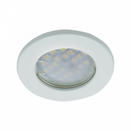 Светильник плоский встраиваемый MR16 GU5.3 DL90 Белый 30x80 Light FW1621EFY Ecola