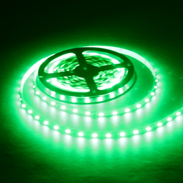 Светодиодная лента SMD-5050/60 IP20 зеленый  14.4w/m 900Lm (5м) Включай