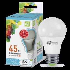 Лампа светодиодная LED-A60-standard 5Вт