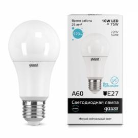 Лампа светодиодная Gauss elementary 10 Watt